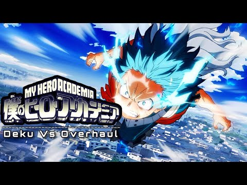 MY HERO ACADEMIA Season 4 - Deku Vs Overhaul Theme (Cover) - by Daniel Mendoza