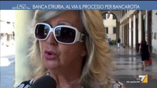 L'aria che tira - Banca Etruria, risparmiatori in piazza (Puntata 22/06/2017) thumbnail