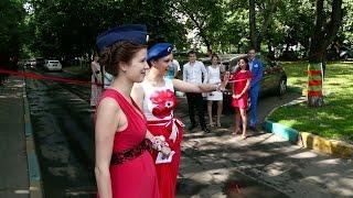 видео Как оригинально провести свадьбу, или Выкуп невесты в стиле мафии