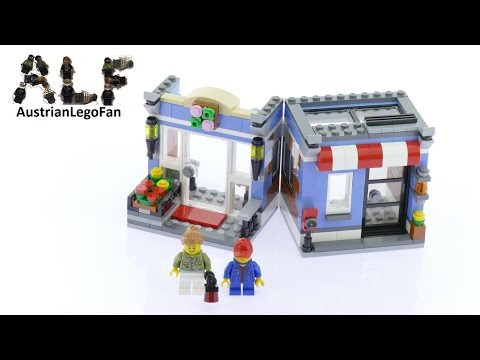 Lego Creator 31050 Flower Shop Model 2of3 - Lego Speed Build Review