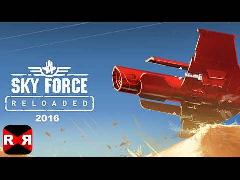 Sky Force Reloaded 2016 (By Infinite Dreams) - iOS / Android - Gameplay Video