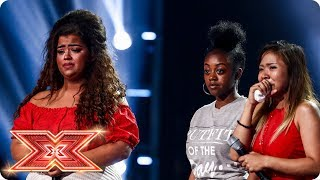 Scarlett, Alisah and Rai-Elle fight for their Chairs | Six Chair Challenge | The X Factor 2017