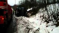 Kolari-Onnettomuus Nokialla 19.2.2016 Truck Accident