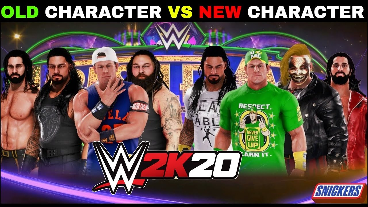 WWE 2K20 'Old Character VS New Character' Gameplay   WWE 2K20 PS5 Gameplay   