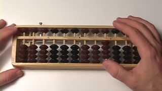 Abacus Lesson 14 // Simple Subraction (#'s 0-5 only) HUNDRED'S column // Step by Step // Tutorial