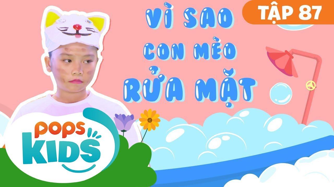 Mầm Chồi Lá Tập 87 – Vì Sao Mèo Con Rửa Mặt | Nhạc thiếu nhi remix| Vietnamese Songs For Kids
