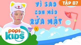 Mầm Chồi Lá Tập 87 - Vì Sao Mèo Con Rửa Mặt | Nhạc thiếu nhi remix| Vietnamese Songs For Kids