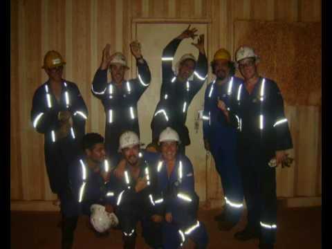 Australian Oilfield, Barrow Island Rig 48, Drilling Rig.wmv