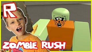 Zombie Rush - THE LAST ONE ALIVE | Roblox