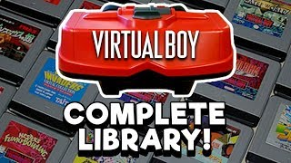 COMPLETE Virtual Boy Library! Every game released in the US! | Nintendrew