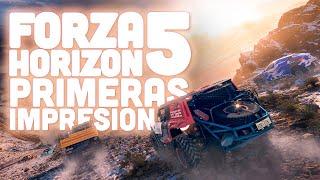 FORZA HORIZON 5 PRIMER GAMEPLAY tiene LOS MEJORES GRÁFICOS que has visto nunca