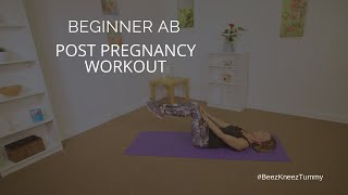 Post Pregnancy Exercise | Flatter Ab and Stronger Core Workout (10 minutes)| Phase 1, Phase 2