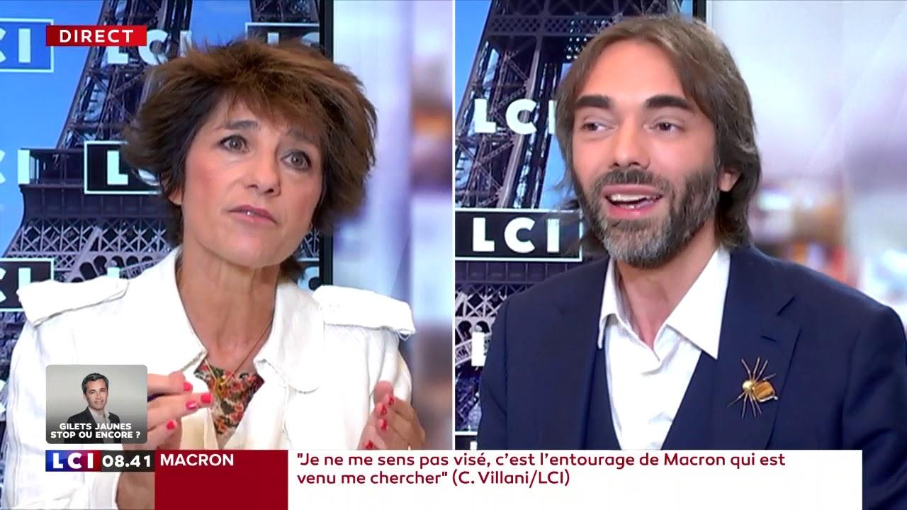 L'interview politique d'Elizabeth Martichoux  : Cédric Villani