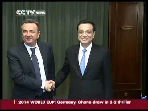 Li Keqiang pledges more cultural exchanges with Greece