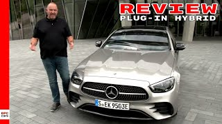 2021 Mercedes-Benz E 300 e 4MATIC Plug in Hybrid Review