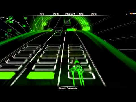 Slipknot - Psychosocial --Audio Surf Gameplay [HQ]
