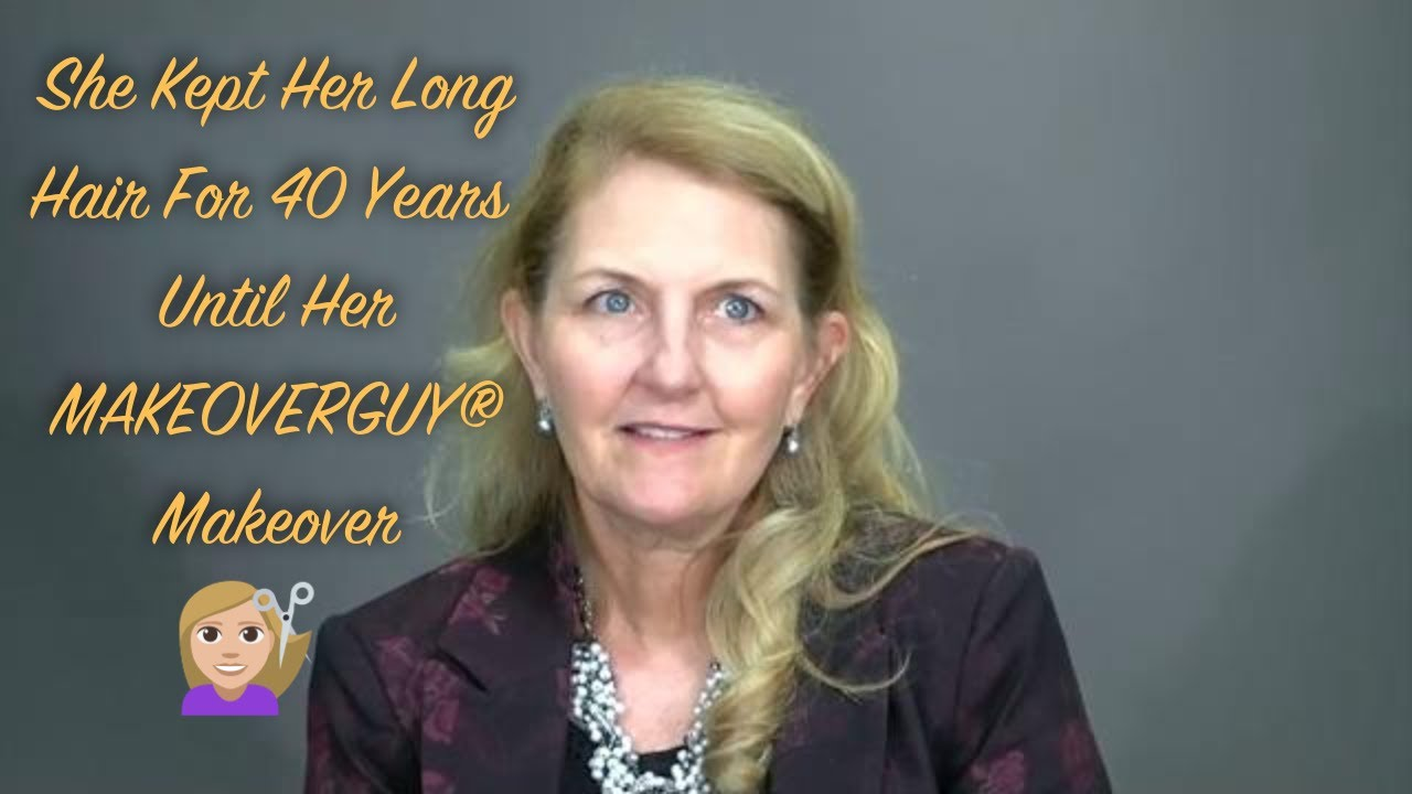 After 40 Years, Lawyer Cuts Off Her Long Hair and Looks Right: A MAKEOVERGUY® Makeover