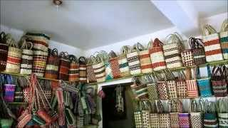 PH - HANDCRAFTED PANDAN BAGS (Traditional Craft-Making)