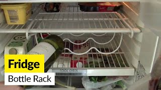 Wine Rack Cabinet Over Refrigerator Woodworking Projects