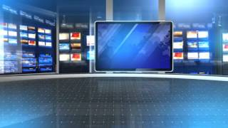 newsroom background virtual screen television
