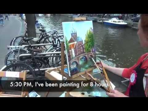 Pintar Rapido Amsterdam 2014 Outdoor Painting Competition Part 5/5