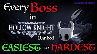 All Hollow Knight Bosses Ranked Easiest to Hardest