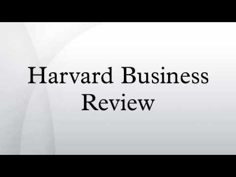 The Explainer: Harvard Business Review