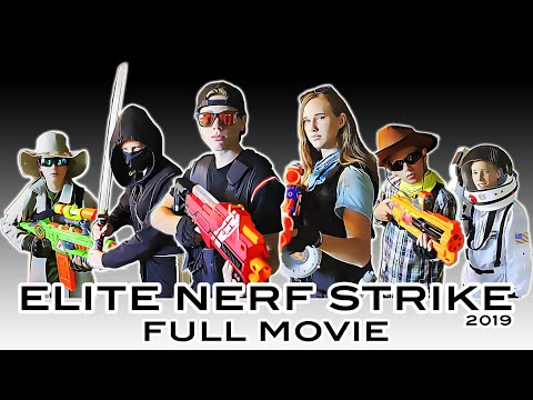 ELITE NERF STRIKE | FULL NERF WAR MOVIE!