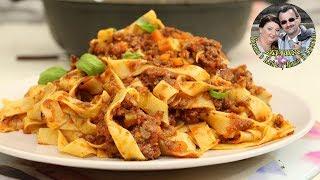 Соус БОЛОНЬЕЗЕ с Пастой. Простой рецепт. Итальянская кухня.