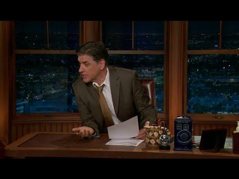 Late Late Show with Craig Ferguson 11/30/2011 David Sedaris, Jeff Cesario
