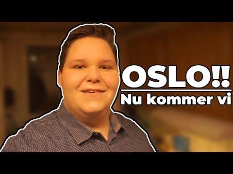 Vlog: min tur til oslo og i radio dag 1
