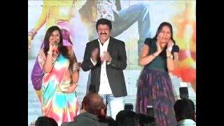 Singer Kousalya Singing - Balakrishna & Hema Dance On Stage - Dictator Platinum Disc Function
