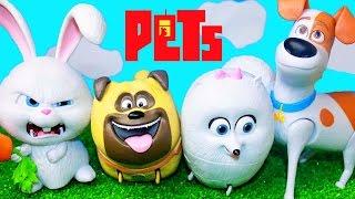 New secret life of pets toys the secret life of pets movie snowball gidget max mel dogs & rabbit