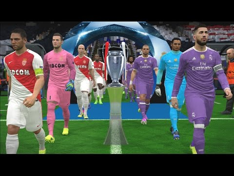 UEFA Champions League Final - Real Madrid vs Monaco - PES 2017 Gameplay