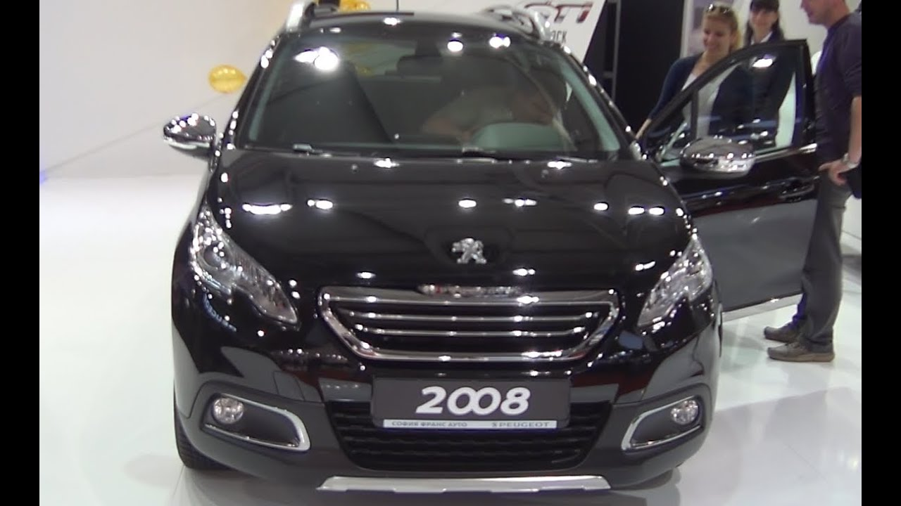 peugeot 2008 allure 1 6 e hdi exterior and interior in full 3d hd youtube. Black Bedroom Furniture Sets. Home Design Ideas