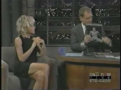 Farrah Fawcett Drugged on Letterman 2 of 2