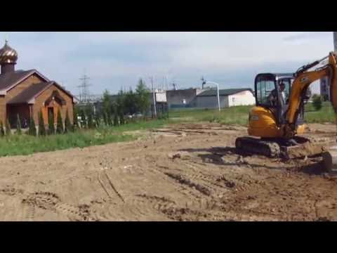 Планировка участка 6 соток под газон мини экскаватором - Steh39.ru