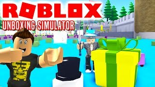 WHAT'S IN THE BOX? -ROBLOX Unboxing Simulator Danish with ComKean