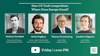 Sino-US Tech Competition: Where Does Europe Stand?