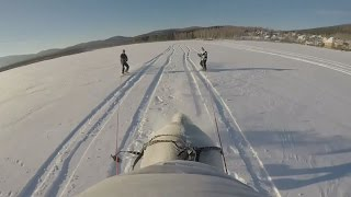 Horseboarding: The new extreme winter sport