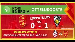Pori Energia ottelukooste: FC Jazz - KäPa 24.5.2019
