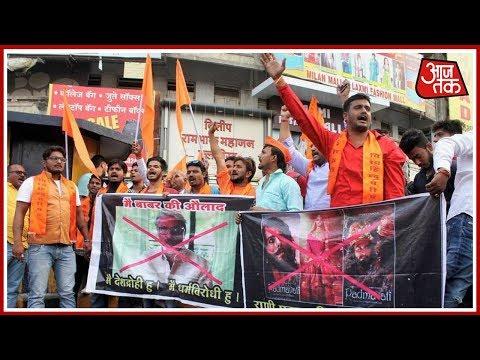 100 Shahar 100 Khabar: Protests Against 'Padmavati' In  Maharashtra