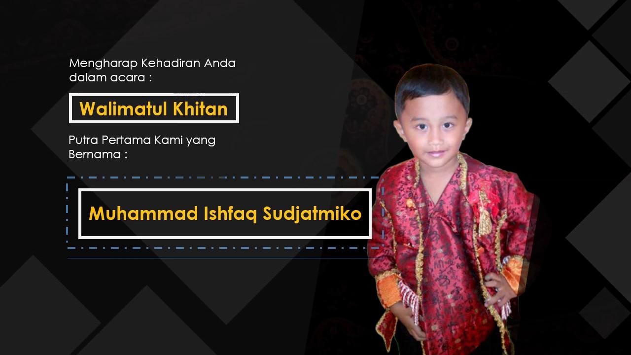 Undangan Khitan Ishfaq Youtube