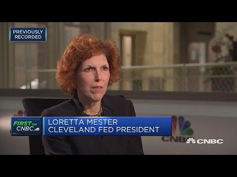 Support gradual interest rate rises: Fed's Mester | In The News