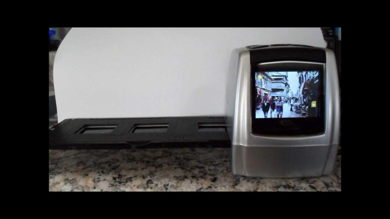 Test of QPIX FS-170 Negative & Slide Scanner - YouTube