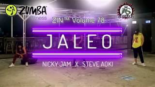 Nicky Jam & Steve Aoki - Jaleo | ZIN™ Volume 78 | A.S.Crewz | Choreography | Zumba® Fitness Video