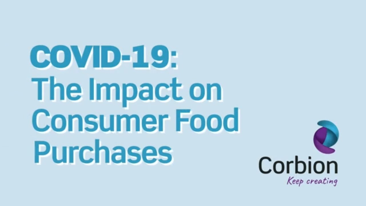 Impact of COVID-19 on consumer food purchases