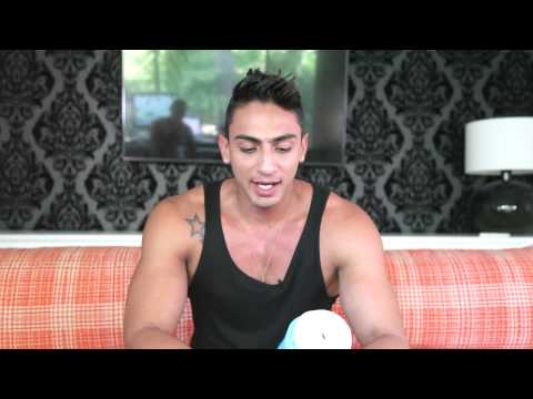 Hot Guys Try FleshJack for the First Time with Davey Wavey