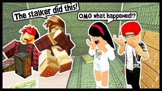 THE STALKER IS COMING AFTER MY KIDS! - Roblox