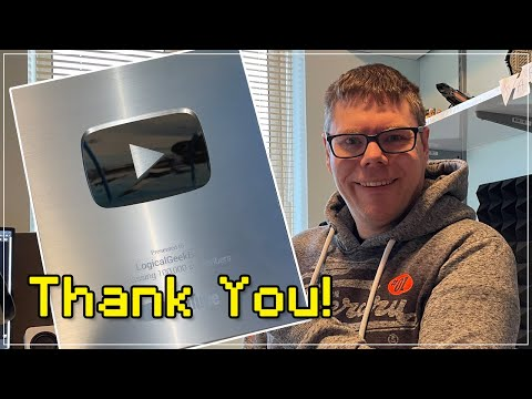 Silver Play Button and Studio Tour - 100,000 Subscriber Special